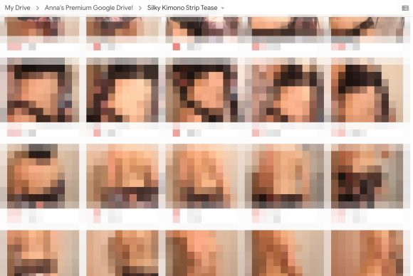 blur Striptease